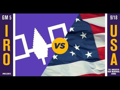 WILC 2015: Game 5 - Iroquois vs. United States