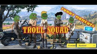 TROLL SQUAD | RULES OF SURVIVAL PHILIPPINES | ROS FUNNY MOMENTS