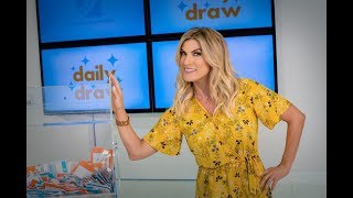 Daily Draw $500 Winner with Trish Suhr | September 17, 2018 | Game Show Network