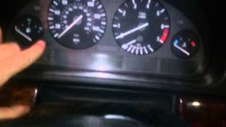E39 Oil and Inspection Light Reset DIY