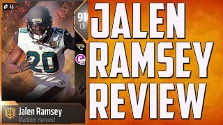 How Good is 91 Overall Jalen Ramsey? MUT 18 Player Review