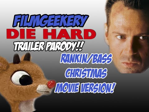 Fly Hard - Die Hard/Rudolph Parody Trailer - Rankin/Bass Christmas ...