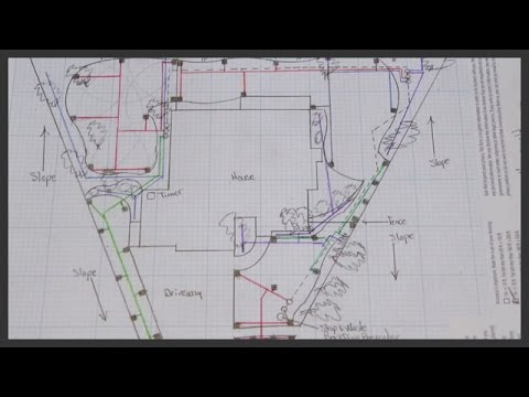 How to design a lawn sprinkler system  YouTube