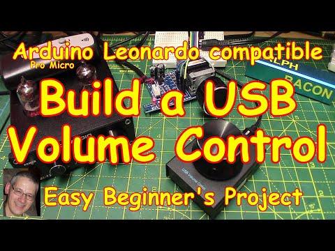 #184 Make An Arduino USB Volume Control - Ideal Beginner's Project