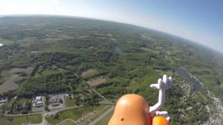 Skydive Sussex Memorial Day 2015 Mr. Potato Head