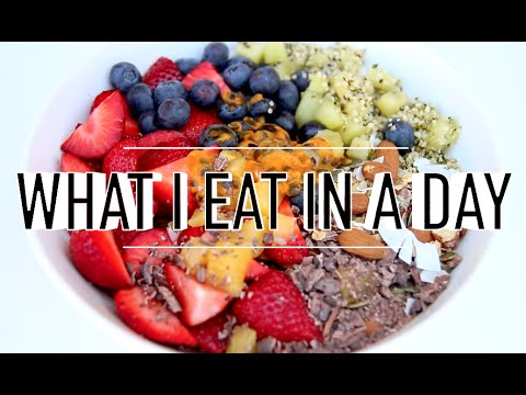 WHAT I EAT IN A DAY #50 | VEGAN