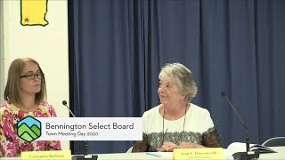 Bennington Select Board // 2020 Town Meeting - 3-2-20