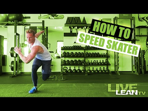 How To Do The SPEED SKATER | Exercise Demonstration Video And Guide