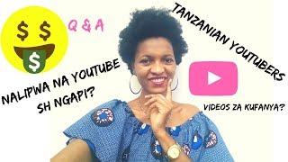 YouTubers wa TanzaniaVideo gani Utengeneze Inalipa Tanzanian Youtuber Ika Malle