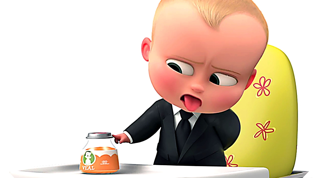 """THE BOSS BABY """"Food Vlog"""" Trailer Tease (Animation, 2017"""