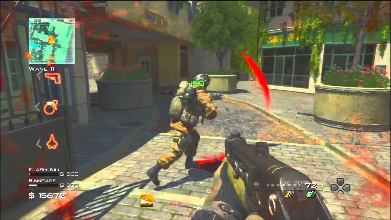 call of duty modern warfare 3 color correction video test ...