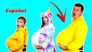 Niños y papa simples reglas de conducta para niños  con Dolguniki