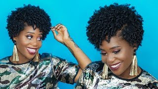 Dry Wash and Go???? Get Defined Stretched Curls   MissKenK