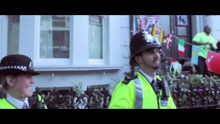 Police dance at Notting Hill Carnival 2014