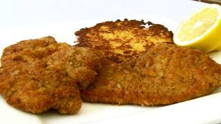Wiener Schnitzel And Potato Pancakes Recipe