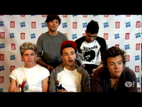 One Direction Yahoo! Music Interview