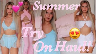 THE SERAPHINA COLLECTION TRY ON HAUL!💋*Best Summer Outfits Ever*!!👑