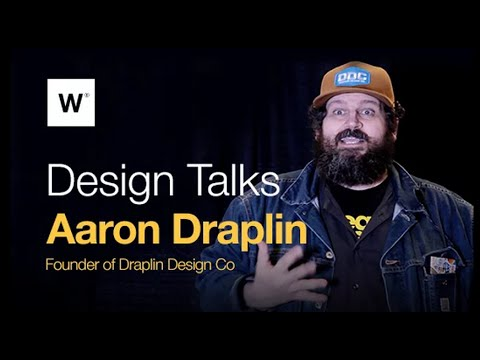 Design Talks With Aaron Draplin: Finding Inspiration In Dead Stuff