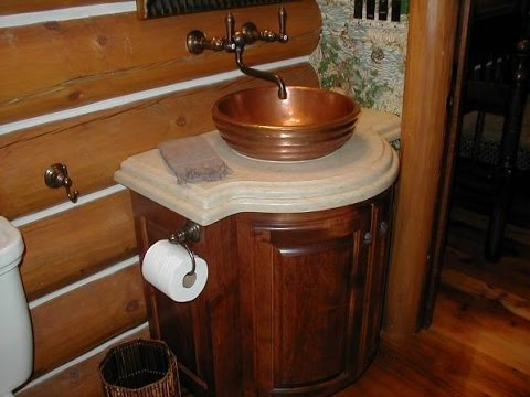 Curved Bathroom Vanity Cabinet Youtube
