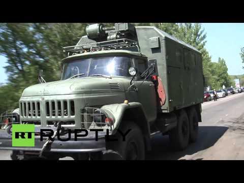 Ukraine: Ukrainian Army seals off Slavyansk
