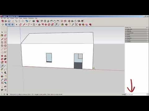 SketchUp: Tape Measure Tool