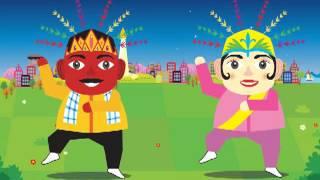 Ondel Ondel Betawi Jakarta Gangnam Style