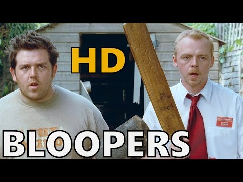 Shaun of the Dead  Bloopers  Gag Reel  HD