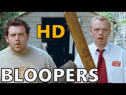 Shaun of the Dead - Bloopers / Gag Reel | (HD)