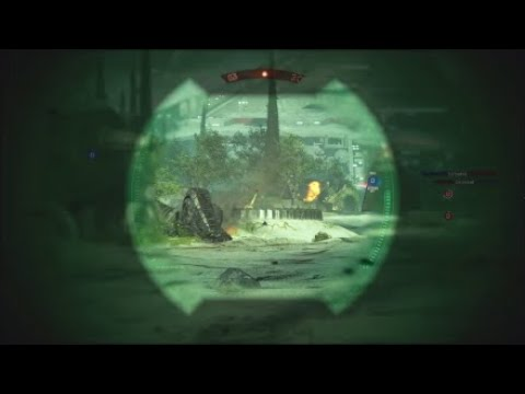Star Wars Battlefront II*  quick sniper