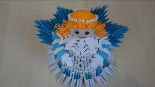 Ангел из 3D модулей