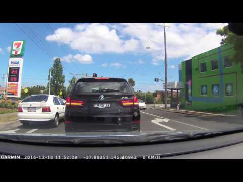 Drive in Mount Waverley to Malvern East (suburbs of Melbourne)