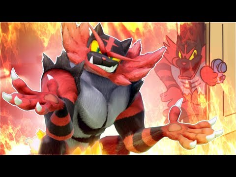 INCINEROAR IS BROKEN || Smash Bros. Ultimate Montage thumbnail