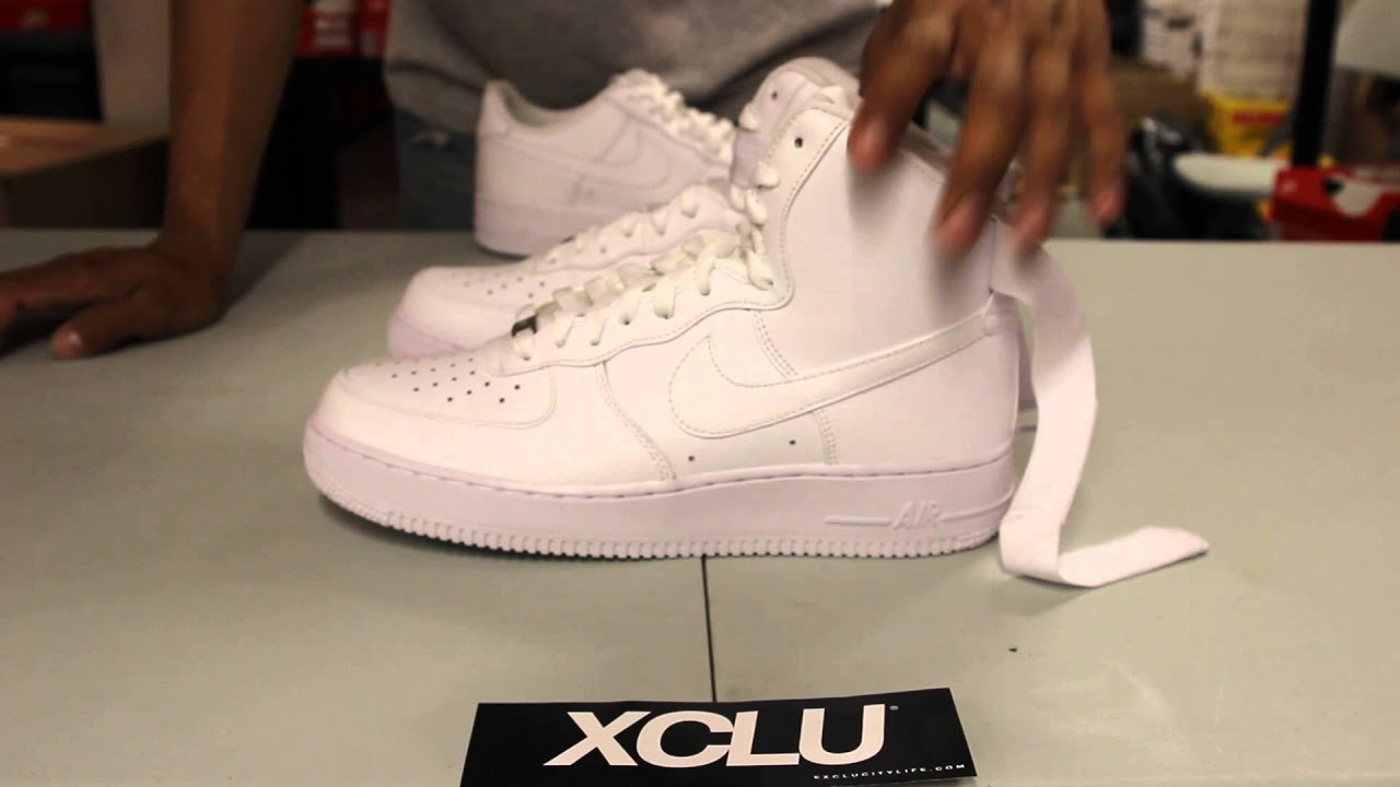 Air Force 1 Hi's YOTH Women's size 7