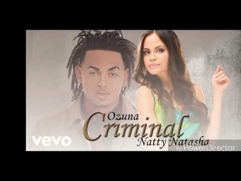 Ozuna Ft  Natty Natasha - Criminal (Audio Oficial)