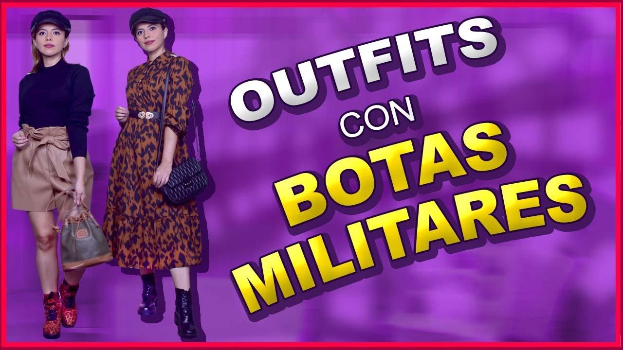 Download Outfits Con Botas De Combate   Botas Estilo Militar Para Mujer