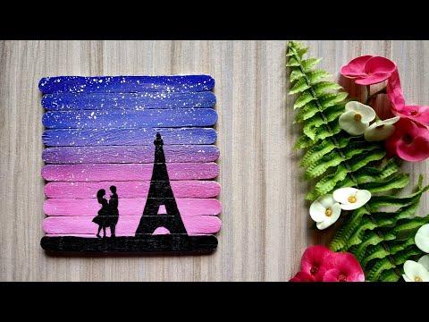 icecream-stick-craft-ideas-|-school-project-craft-ideas-|-beautiful-romantic-couple-scene