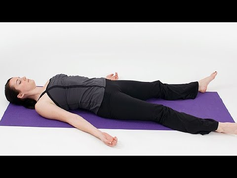 Beginners Yoga for Relaxation of Body and Mind | Shavasana, the Corpse Pose