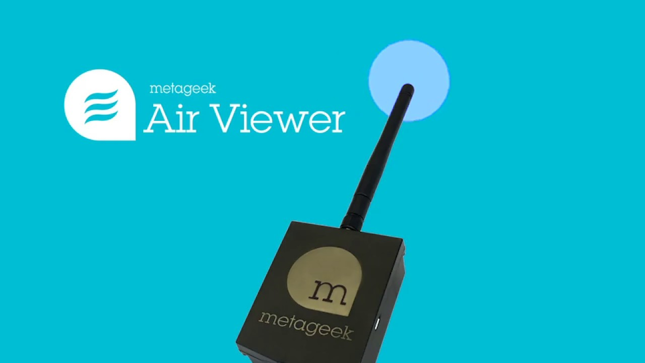 Introducing Wi-Spy Air, MetaGeek's latest mobile Wi-Fi scanner!