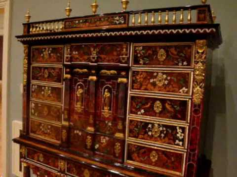 16th and 17th century furniture at the Legion of Honor