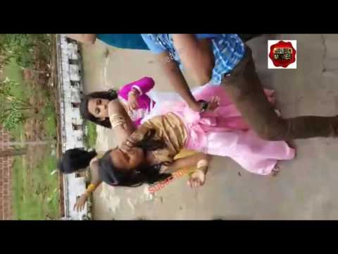 Bonalu Dance By A Small Girl