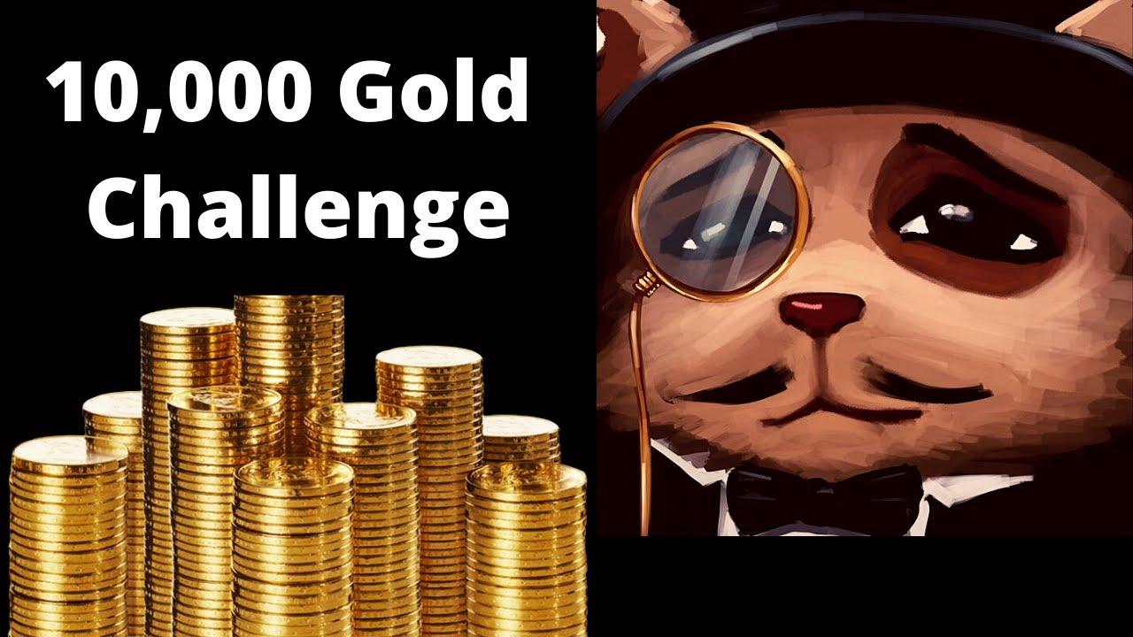 10.000Gold Save Challenge[Teemo vs Vayne]