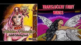 How To: Translucent fairy wings tutorial | Hidden Paradise Cris Lopez