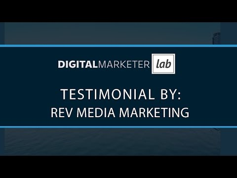 Rev Media Marketing for DigitalMarketer Lab
