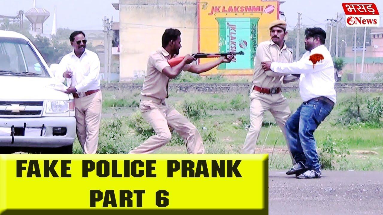 Fake Police Prank Part 6 | Bhasad News | Pranks In India 2018