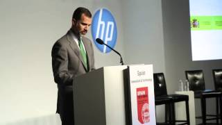 Felipe, Prince of Asturias becomes honorary HITEC member
