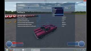Example customization car (in NeoAxis Engine)