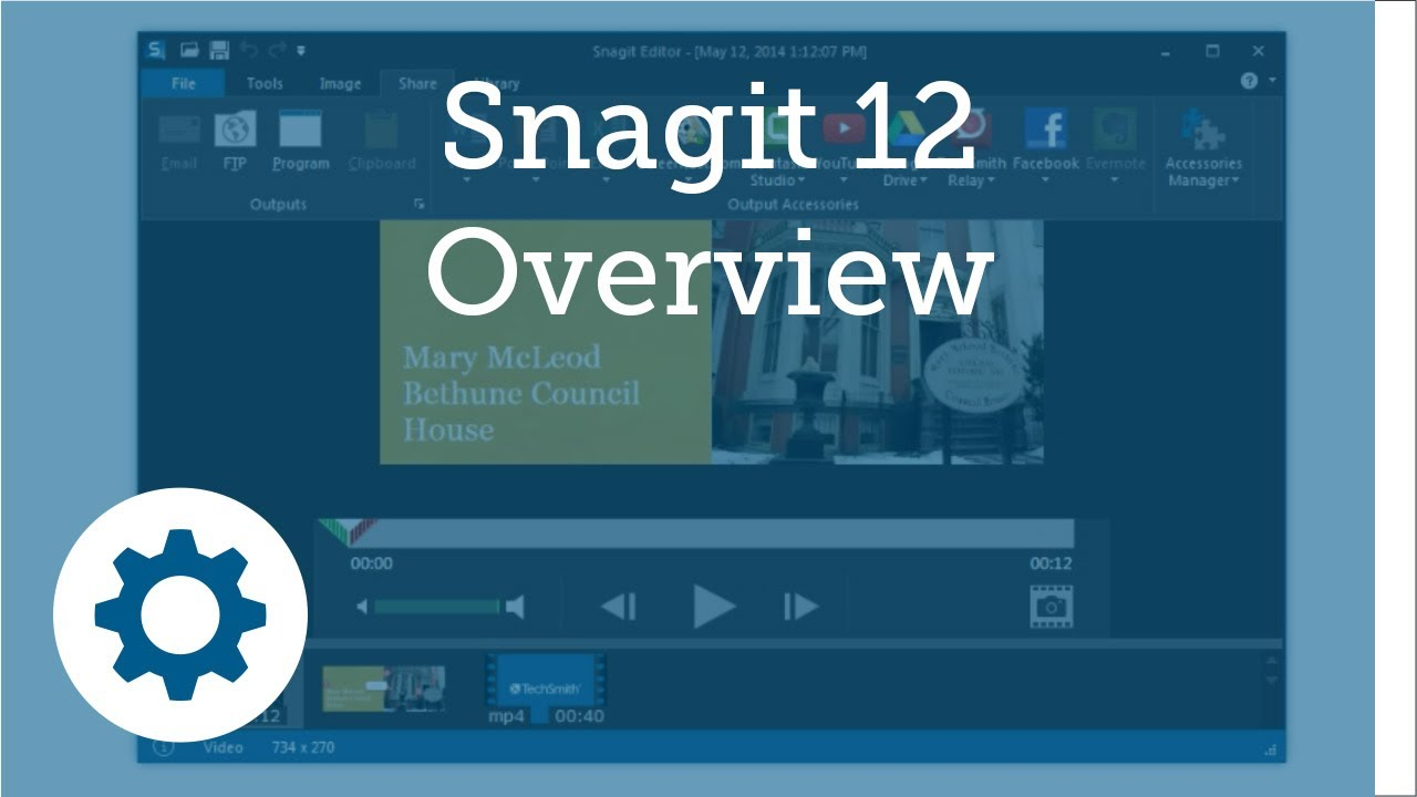 Snagit 12 Features Overview - Free Tutorial