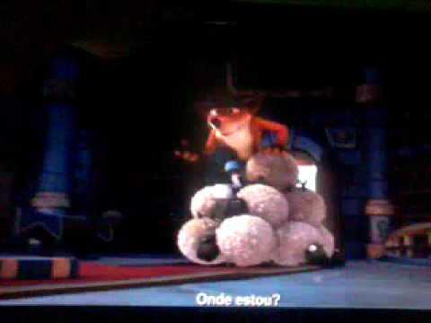 Crash Bandicoot Dublado em Skylanders Academy [PT-BR]