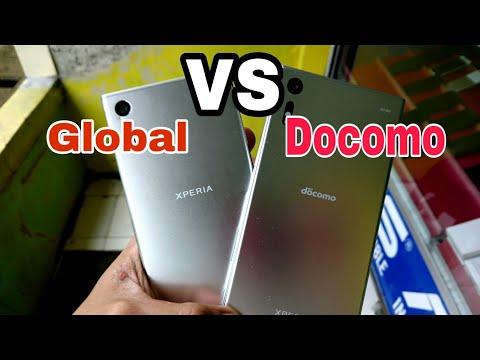 PERBEDAAN Sony Xperia Xz global Dan Docomo