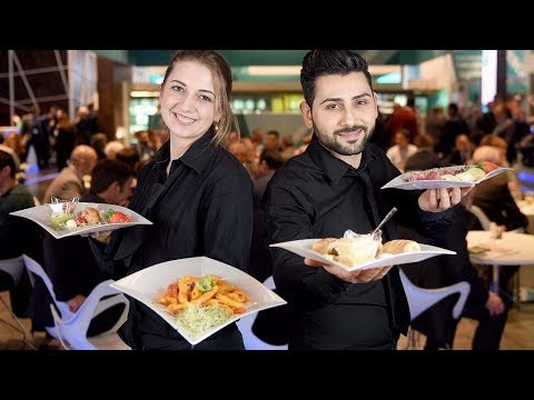 Catering, Hospitality in Exhibitions all over the WORLD (Official Trailer)